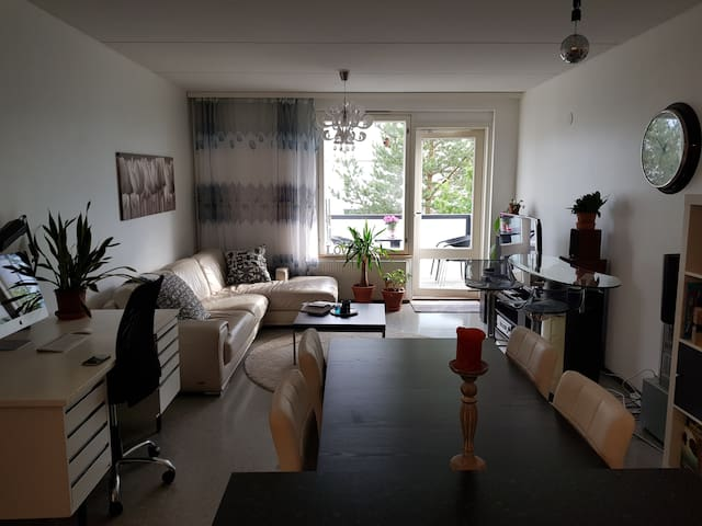Cozy 2 bedroom modern flat