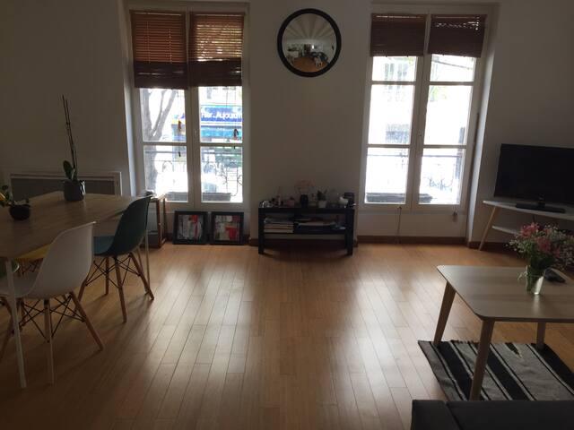 Room in nice apt in center Paris / Le Marais