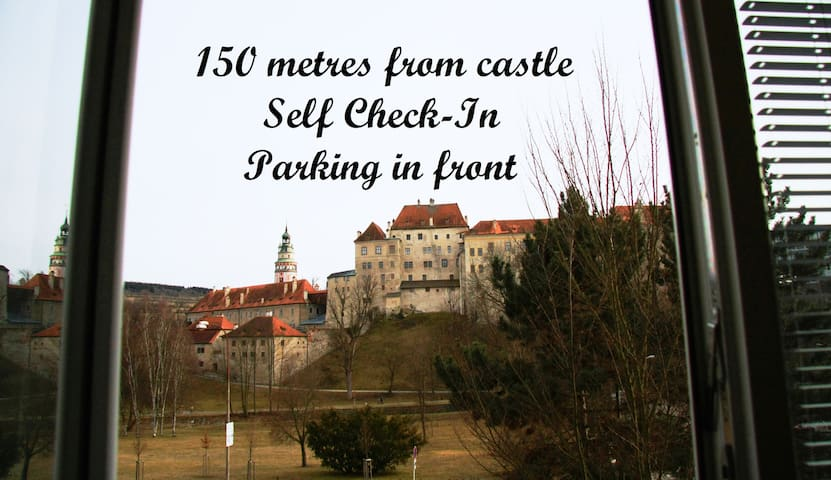 Flat with amazing view of castle - Český Krumlov - Appartement