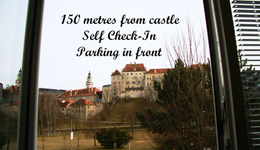 Flat with amazing view of castle - Český Krumlov - Flat