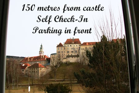 Flat with amazing view of castle - Чешский Крумлов - Квартира