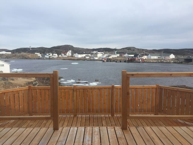 Harbour view from the patio