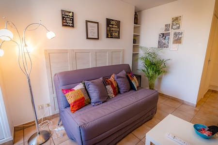 DUPLEX  dans CENTRE VILLE  (GARE/PARKING/WIFI)