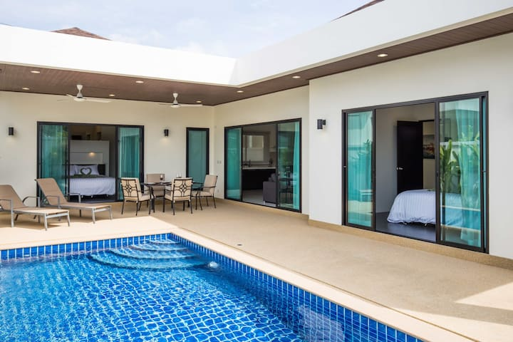 Nga Chang (Villa 14) Private pool villa,2 Bedrooms - Muang - Hus