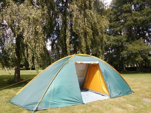 Ferien im großen Zelt am Waldsee - Lübtheen - Tent
