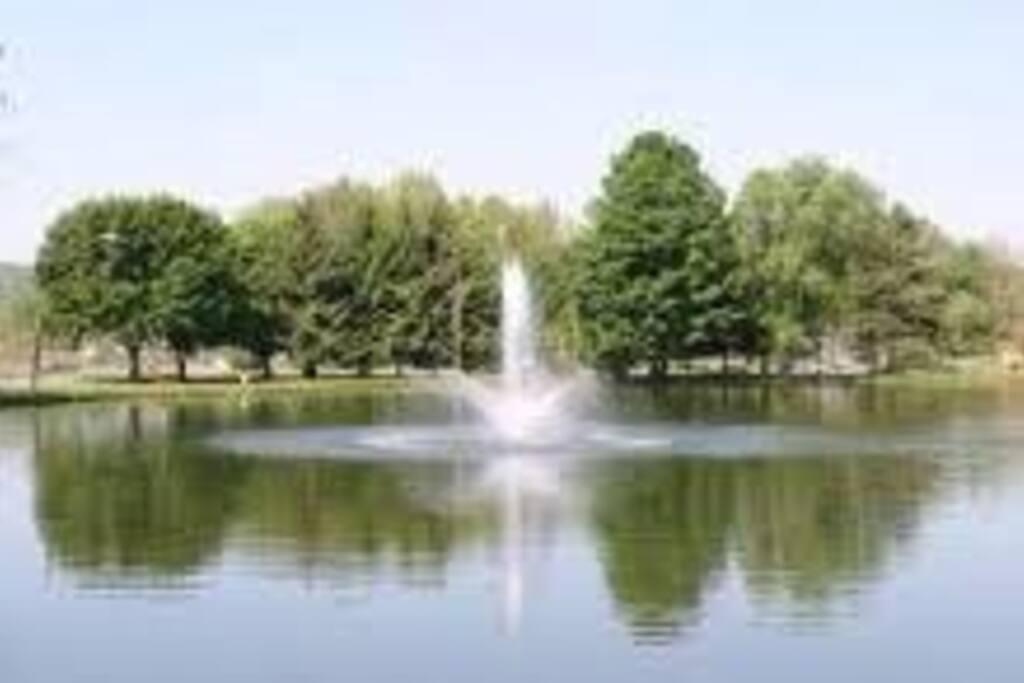 Neahwa Park pond