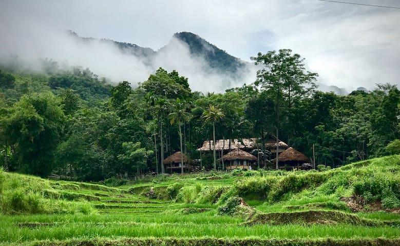 Pù Luông/ Eco Home in Pù Luông Nature Reserve