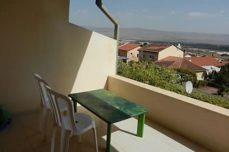invite here! space &  amazing view - Qiryat Shemona - Leilighet