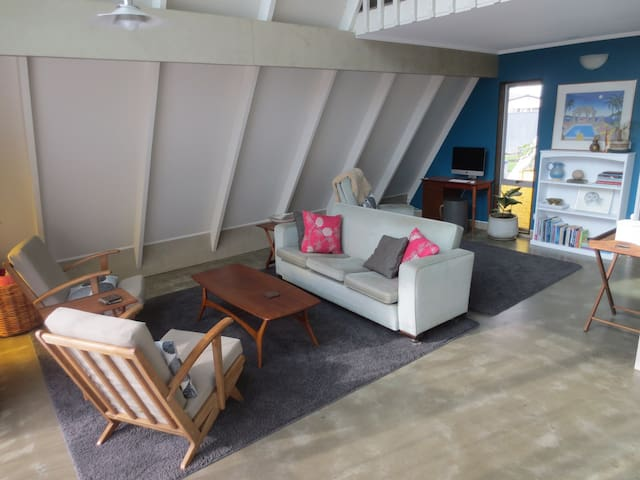 Bright and Airy A-Frame