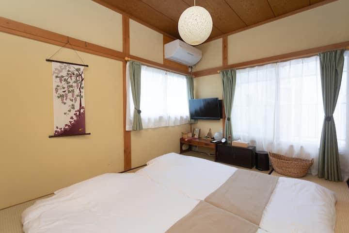 3min to sta. Hakone,Odawara Tatami Futon Room