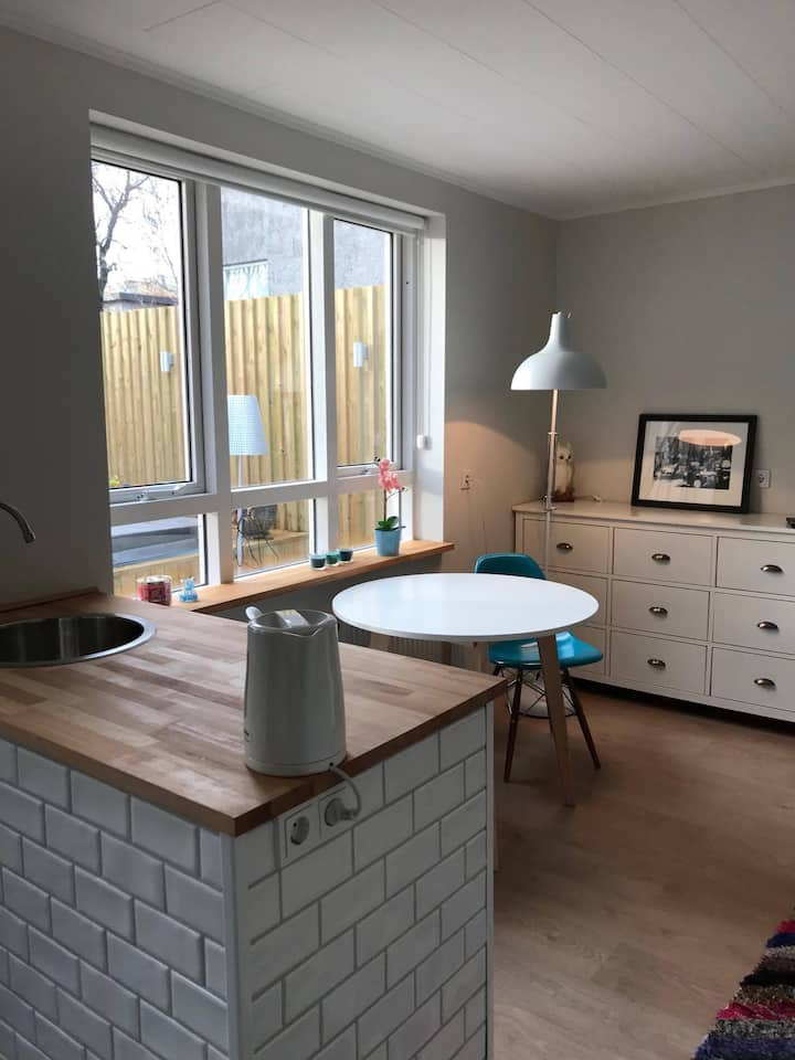 One room studio apartment, down town Reykjavík!
