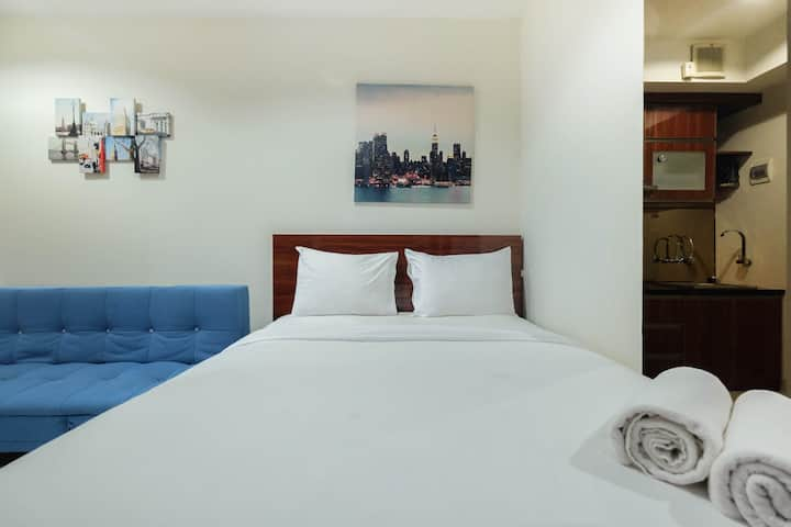 Best Location Studio Apartment Grand Kamala Lagoon