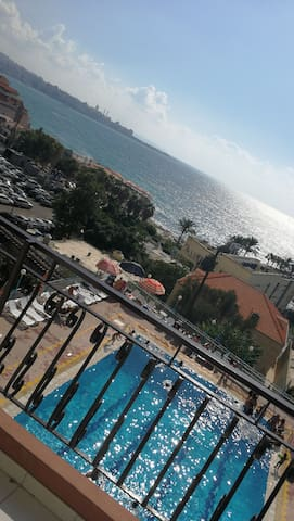 Lovely apartment with bay view in jounieh