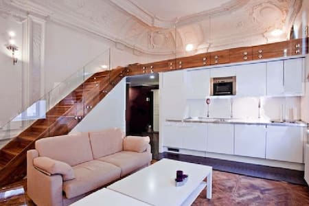 Monumental duplex centremost Moscow