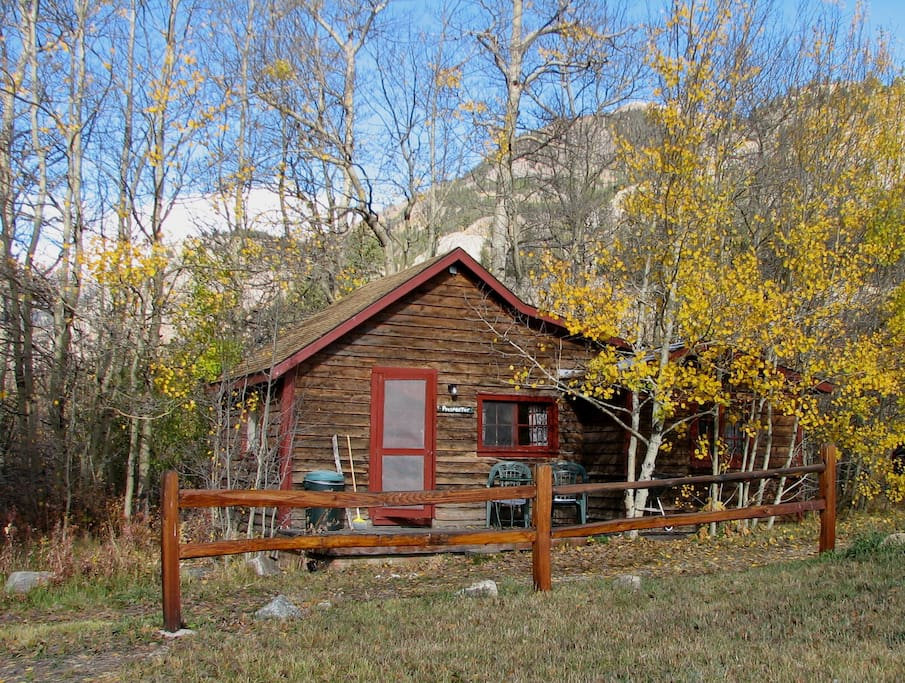 Prospector cabin at mt elbert lodge chalet in affitto a for Cabine in affitto nel parco invernale colorado
