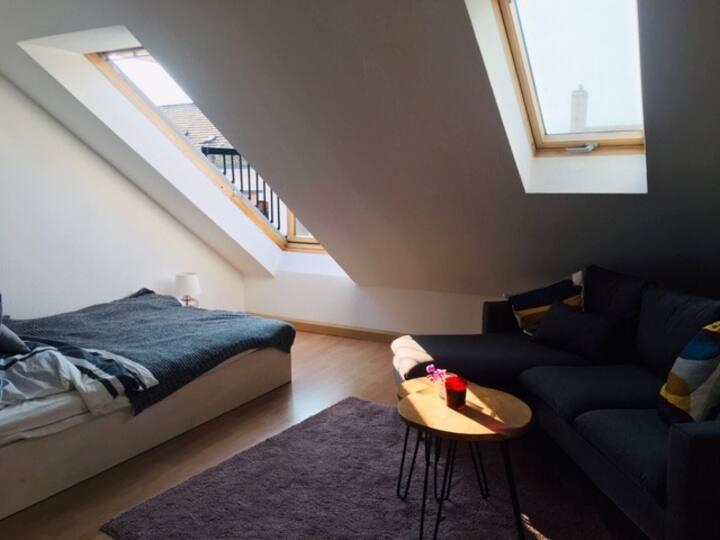 *cozy* zentrale Wohnung mit Sonnenbalkon