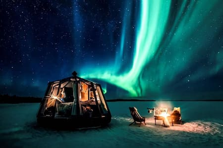 Aurora Hut Igloo Nuorgam