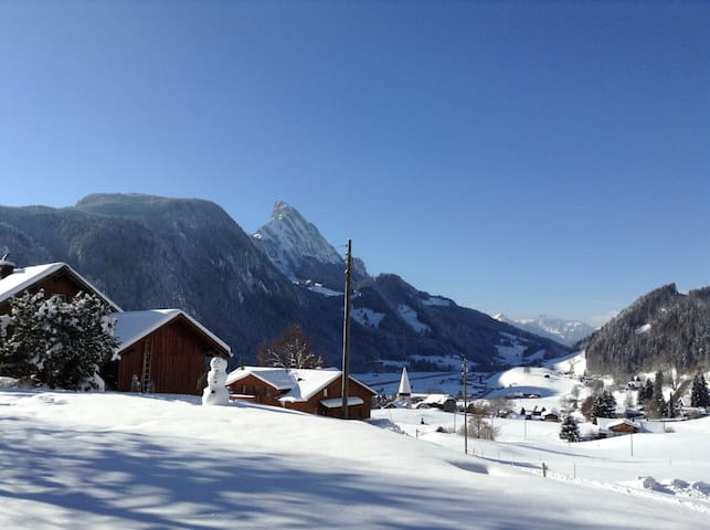 COSY CHALET WITH BEAUTIFUL VIEW IN HALTEN, GSTAAD