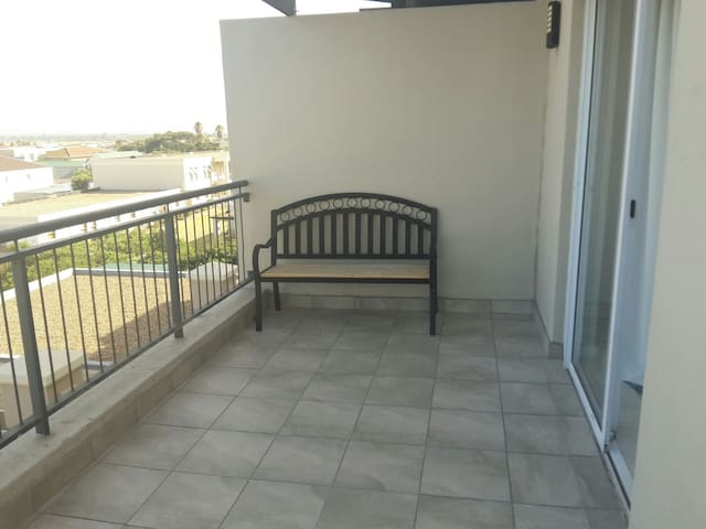 Balcony with Bench