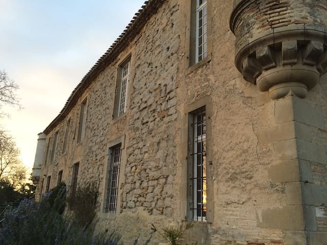 13th century Chateau near Carcassonne with pool