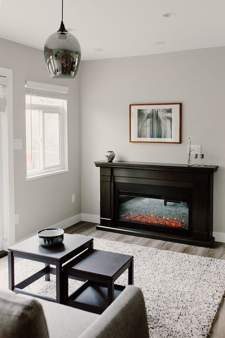 Newly-renovated private suite in East Vancouver