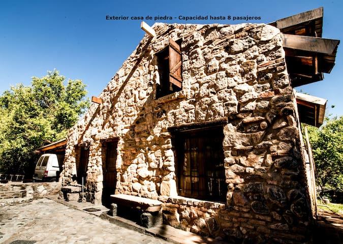 Casa de Piedra. Un paraíso en Punilla