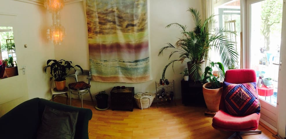 Beautiful green apartment in Utrecht