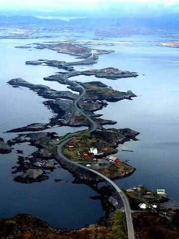 Leite gård near Atlantic road - Familierom