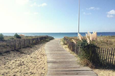 """""""L'Abeille d'Or"""" , près de la grande plage"""