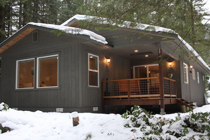 Delightful Mount Baker/Glacier Springs Cabin - Maple Falls - House