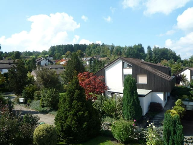 Nice big house, quiet neighbourhood, near City - Ebmatingen - Hus
