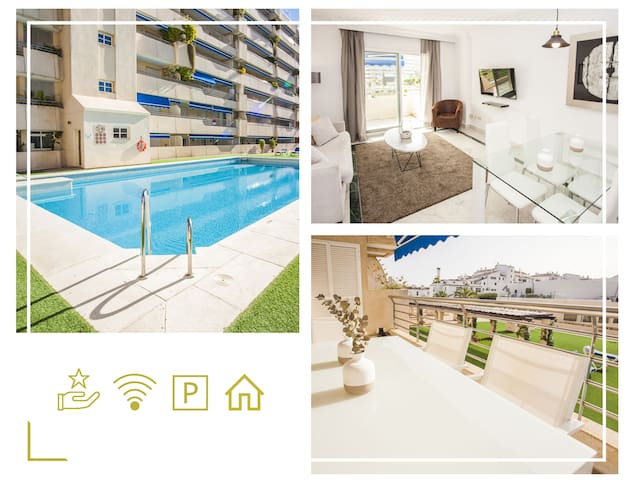 Enjoy sunny terrace!30 meters from the beach!Wi Fi