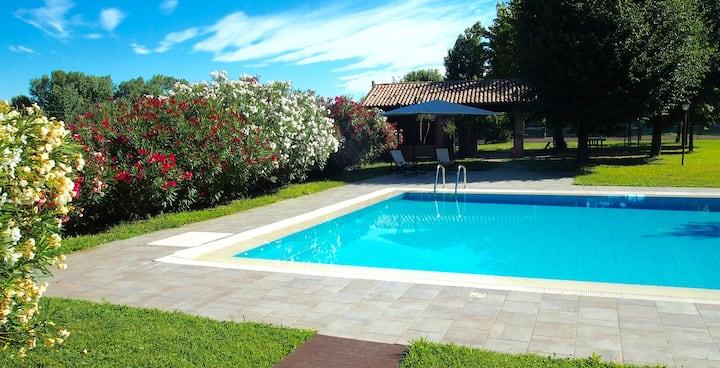 Private Apartment in a beautiful Villa near Padua