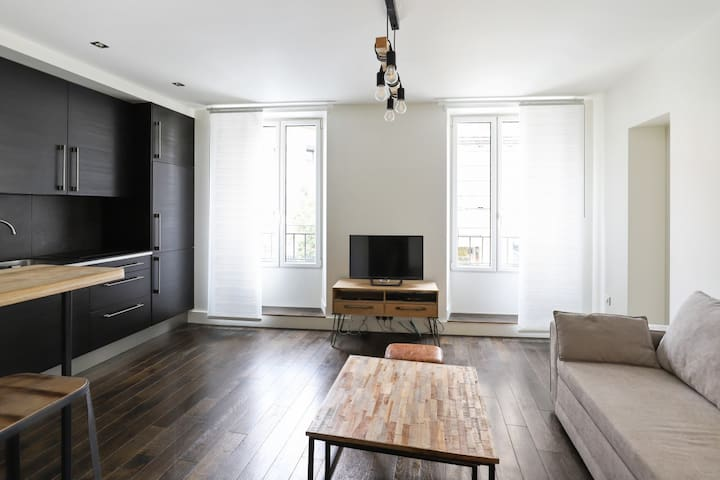Modern 1br flat in Boulogne, close to Paris