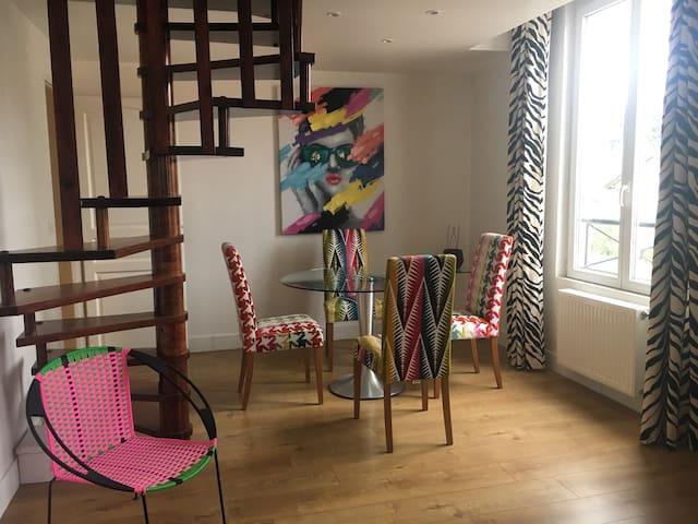 Joli appartement en duplex  ST MAURICE DE BEYNOST