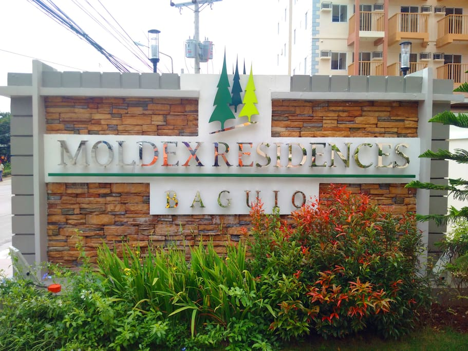 Experience staying at the newest condominium in Baguio City. Situated along the road so if you're coming from the lowlands through Marcos Highway it's impossible to miss the sign.
