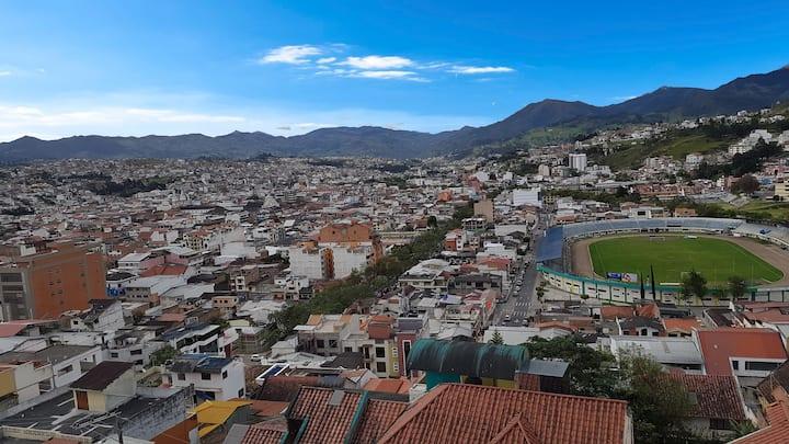 La mejor vista de la ciudad, cerca al centro-Dep 3