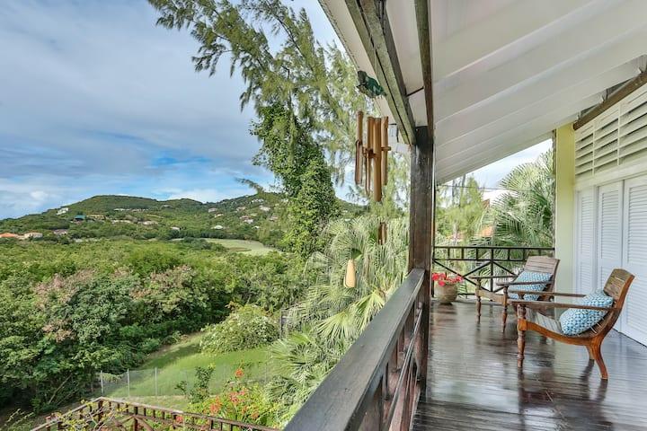 D'Arcy, a gorgeous Caribbean home + stunning views