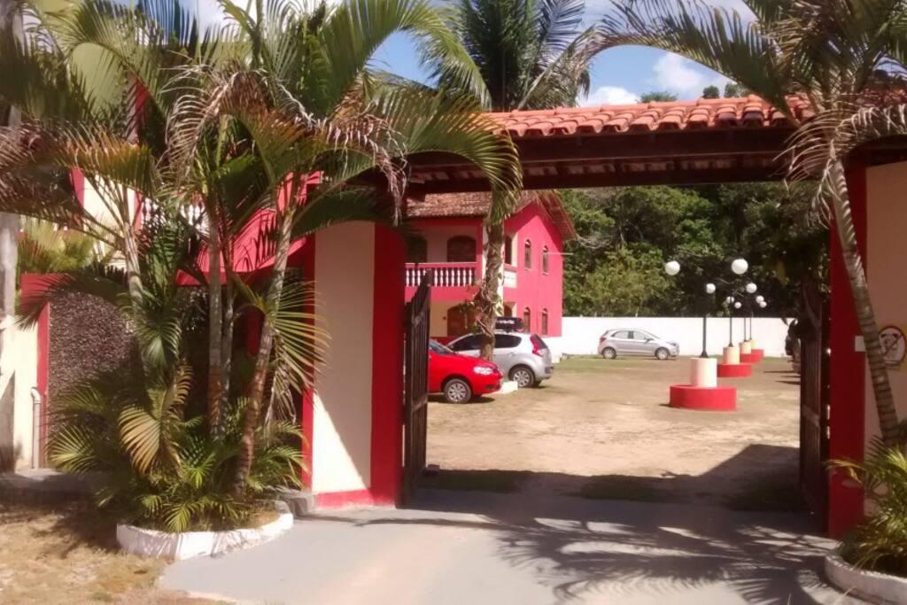 Entrada do Village Brasília.