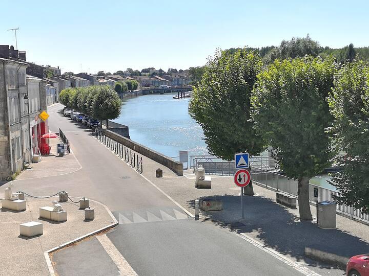 Un balcon sur la Charente