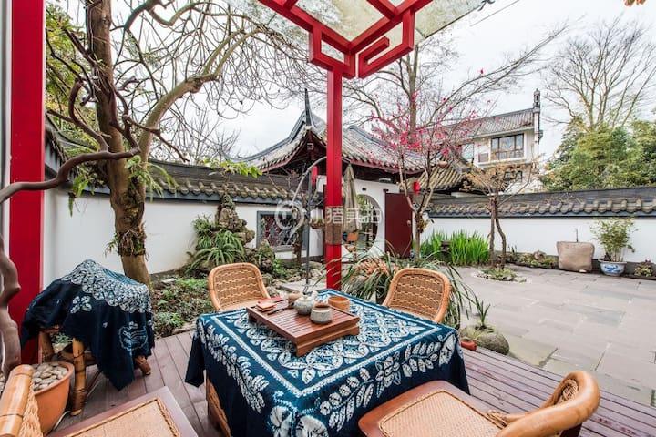 芙蓉古城中式庭院别墅单间vip666 - Chengdu - Villa