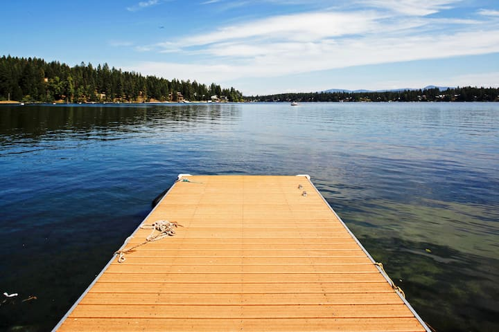 Enjoy access to your own private dock.