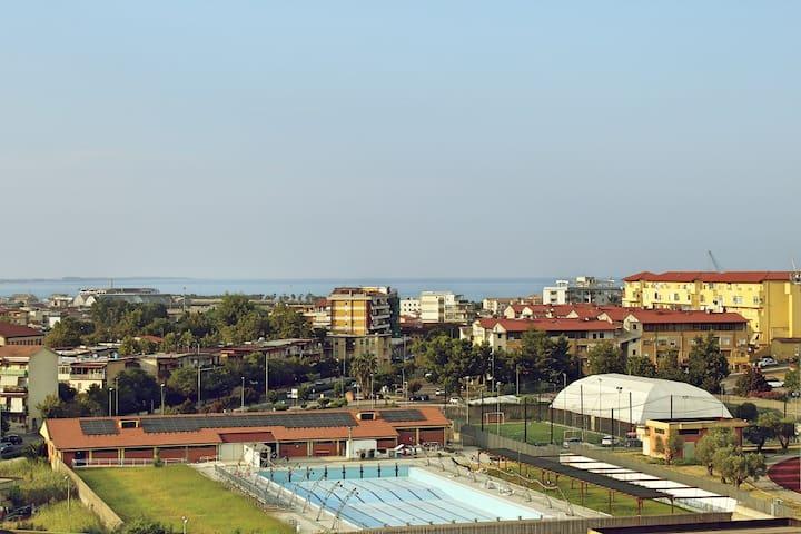 Casa con vista a Crotone