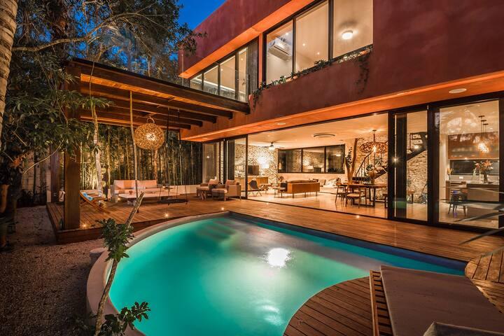Villa Amaranto- luxury design. Chef&jacuzzi 8PP3BR
