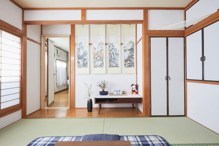 二楼榻榻米房间