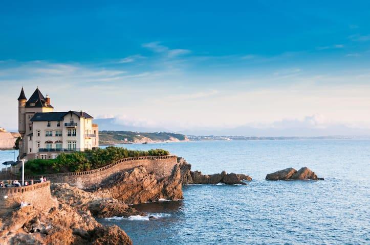 Biarritz à 20 min en voiture