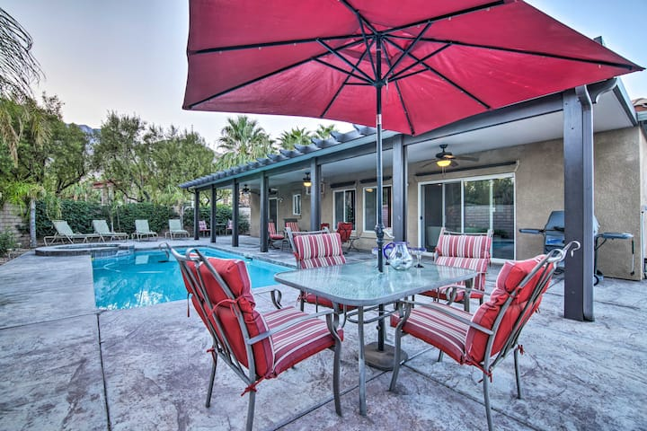 NEW! Private Palm Springs Escape w/ Backyard Oasis