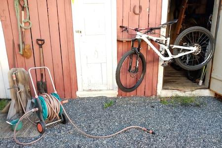 Feriebolig med sykkelfasiliteter