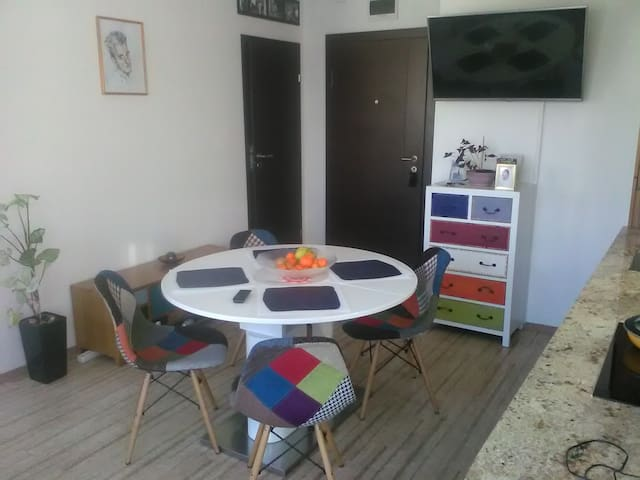 Bright apartment in a great location