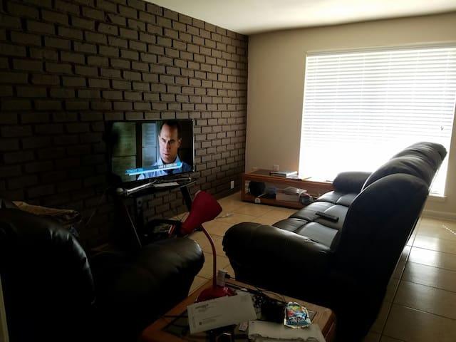 Living Room for Super Bowl - Houston - Appartement